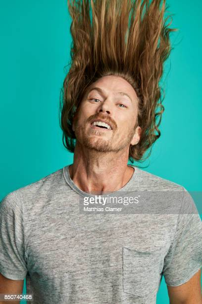 Actor Jason Lewis from Midnight Texas is photographed for Entertainment Weekly Magazine on July 21 2017 at Comic Con in San Diego California...