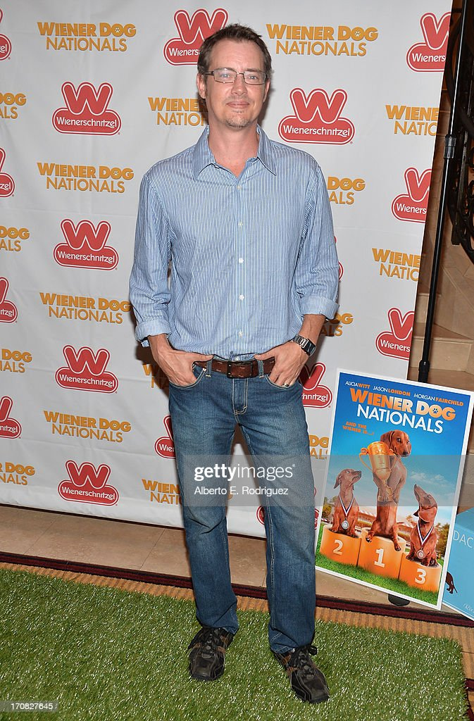 Actor Jason London arrives to the Premiere of 'Wiener Dog Nationals' at Pacific Theatre at The Grove on June 18, 2013 in Los Angeles, California.
