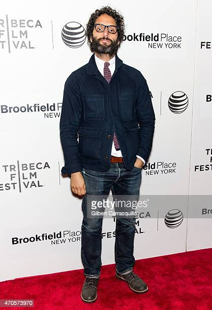 Actor Jason Mantzoukas attends the 2015 Tribeca Film Festival New York Premiere 'Sleeping With Other People' at BMCC Tribeca PAC on April 21 2015 in...