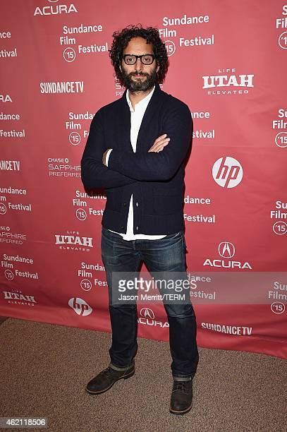 Actor Jason Mantzoukas attends the 'Sleeping With Other People' premiere during the 2015 Sundance Film Festival on January 24 2015 in Park City Utah
