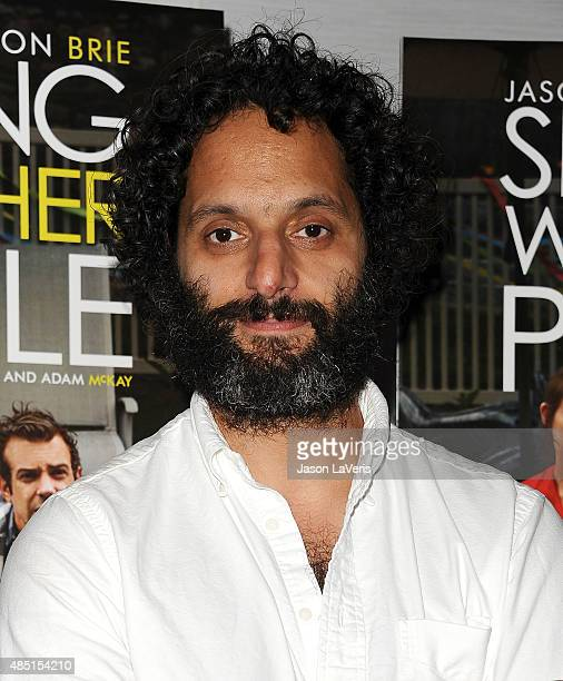 Actor Jason Mantzoukas attends the tastemaker screening of IFC Films' 'Sleeping With Other People' on August 24 2015 in West Hollywood California
