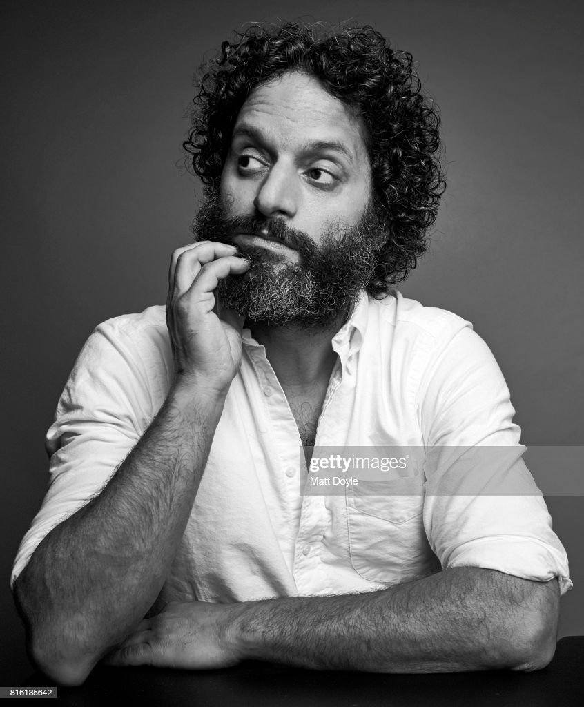 Actor Jason Mantzoukas photographed for Self Assignment on June 23, 2017, in New York City.