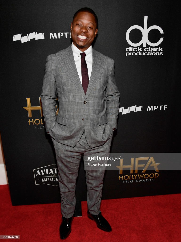 Actor Jason Mitchell attends the 21st Annual Hollywood Film Awards at The Beverly Hilton Hotel on November 5, 2017 in Beverly Hills, California.
