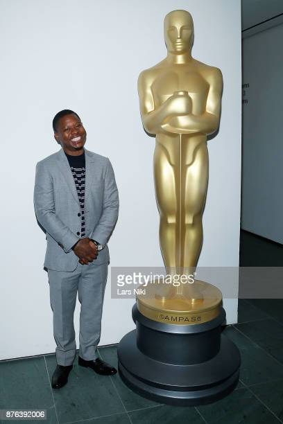Actor Jason Mitchell attends The Academy of Motion Picture Arts Sciences Official Academy Screening of Mudbound at the MOMA Celeste Bartos Theater on...