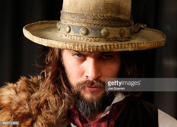 Actor Jason Momoa attends The Variety Studio At Sundance Presented By Dockers on January 25 2015 in Park City Utah