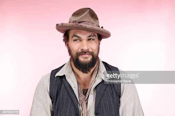 Actor Jason Momoa is photographed for Entertainment Weekly Magazine on January 25 2014 in Park City Utah