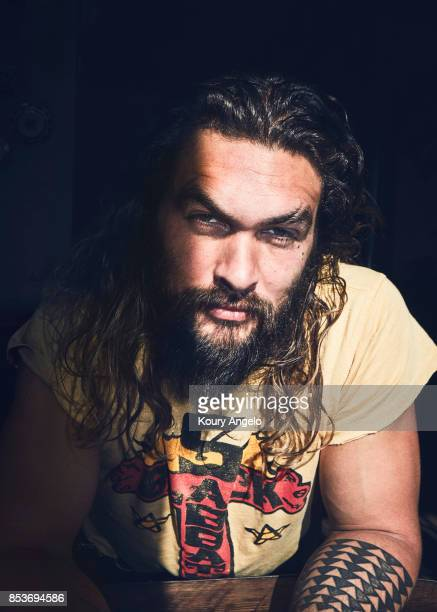 Actor Jason Momoa is photographed for The Hollywood Reporter on December 20 2016 in Los Angeles California PUBLISHED IMAGE