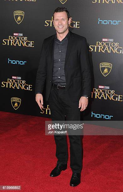 Actor Jason O'Mara arrives at the Los Angeles Premiere 'Doctor Strange' on October 20 2016 in Hollywood California