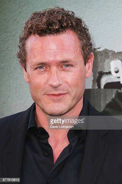Actor Jason O'Mara arrives at the premiere of New Line Cinema's 'Lights Out' at the TCL Chinese Theatre on July 19 2016 in Hollywood California