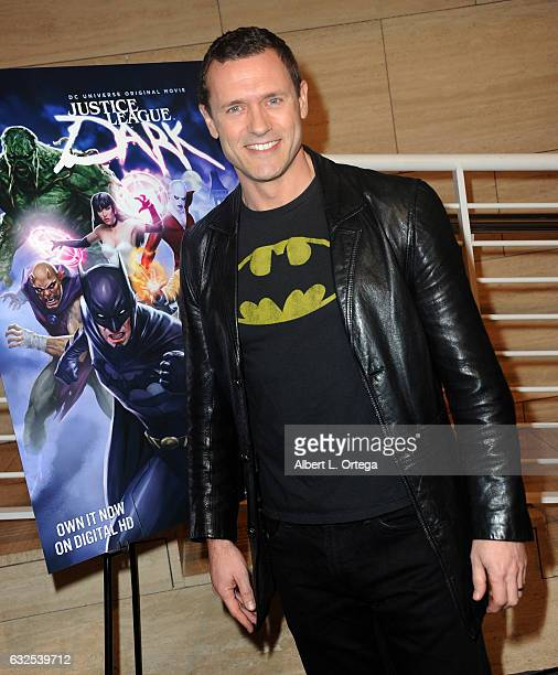 Actor Jason O'Mara arrives for the Premiere Of Warner Home Movies' 'Justice League Dark' held at The Paley Center for Media on January 23 2017 in...