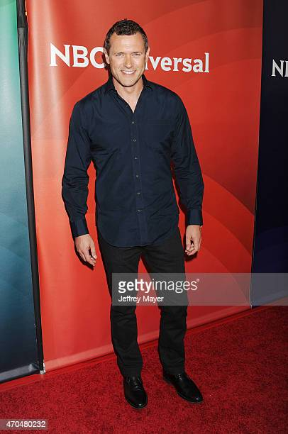 Actor Jason O'Mara attends the 2015 NBCUniversal Summer Press Day held at the The Langham Huntington Hotel and Spa on April 02 2015 in Pasadena...