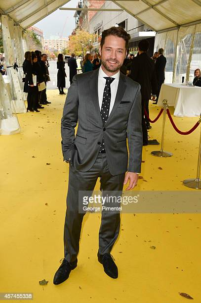 Actor Jason Priestley attends the 2014 Canada's Walk Of Fame Awards at the Sony Centre on October 18 2014 in Toronto Canada