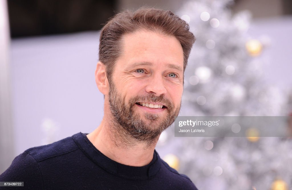 Actor Jason Priestley attends the premiere of 'The Star' at Regency Village Theatre on November 12, 2017 in Westwood, California.