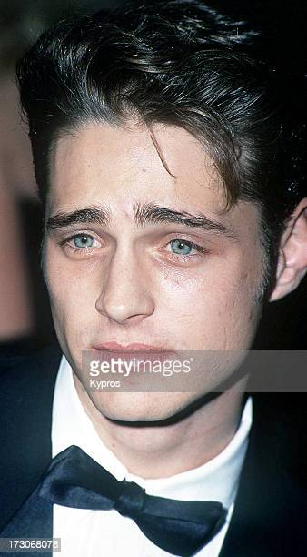 Actor Jason Priestley circa 1990