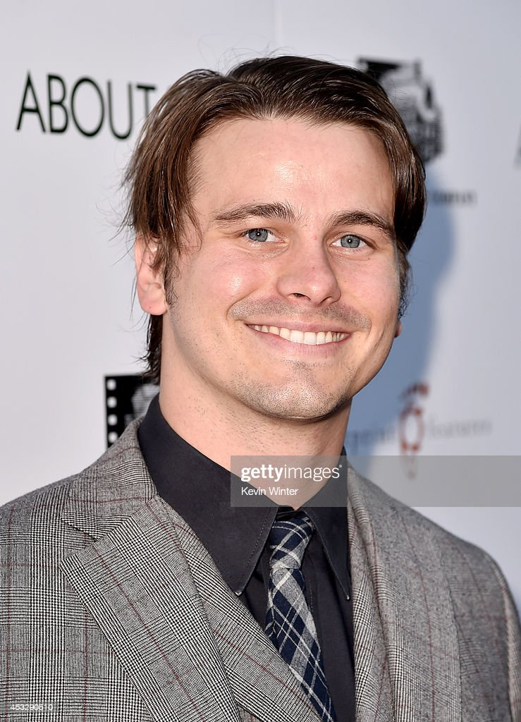 Actor <a gi-track='captionPersonalityLinkClicked' href=/galleries/search?phrase=Jason+Ritter&family=editorial&specificpeople=209201 ng-click='$event.stopPropagation()'>Jason Ritter</a> arrives at the premiere of 'About Alex' at the Arclight Theatre on August 6, 2014 in Los Angeles, California.