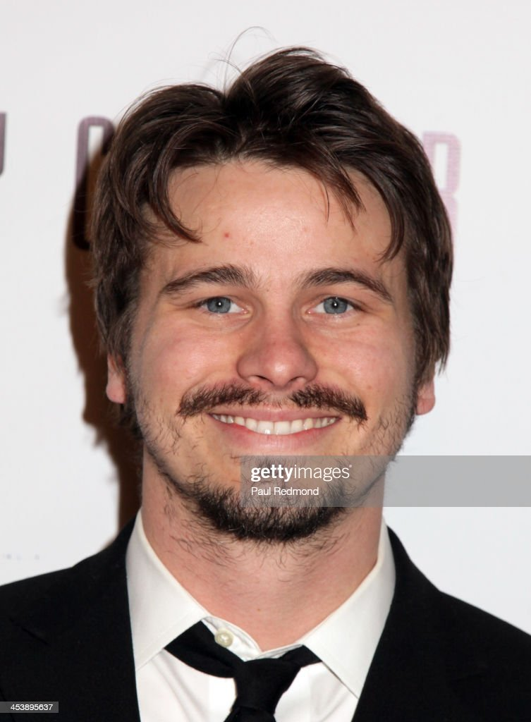 Actor Jason Ritter arrives at 'Tie The Knot' Store Grand Opening with founder Jesse Tyler Ferguson at The Beverly Center on December 5, 2013 in Los Angeles, California.