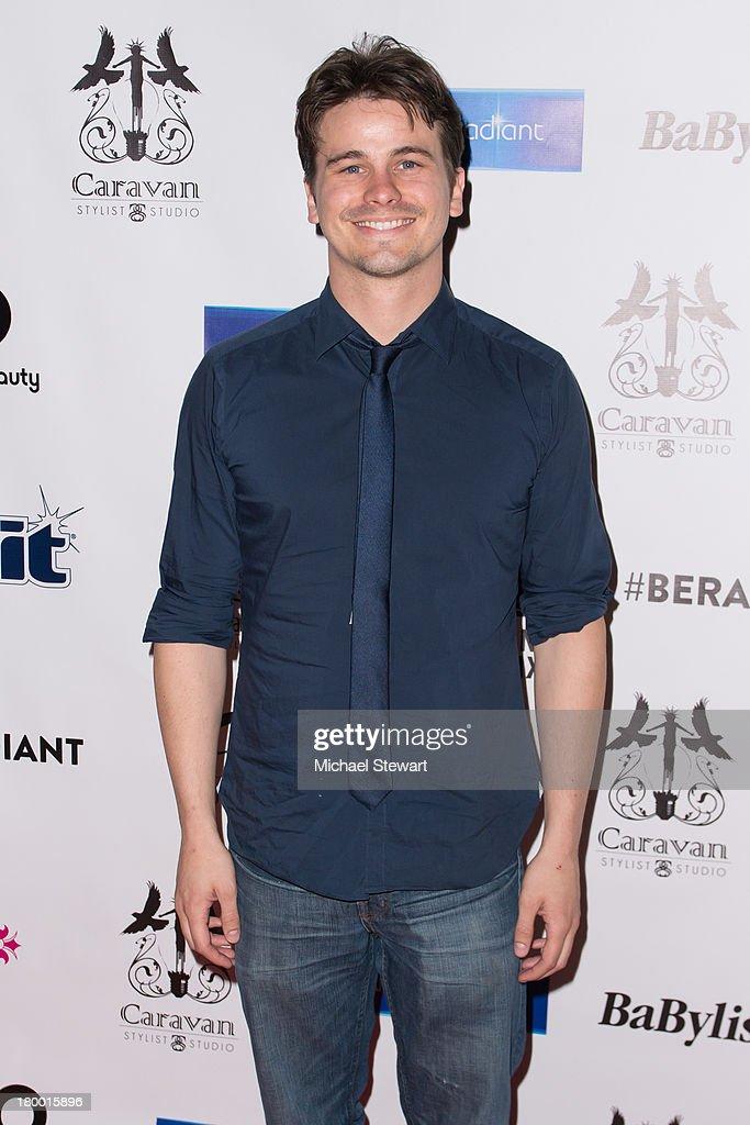 Actor Jason RItter attends Caravan Stylist Studio's Fashion Week Soiree at Carlton Hotel on September 7, 2013 in New York City.