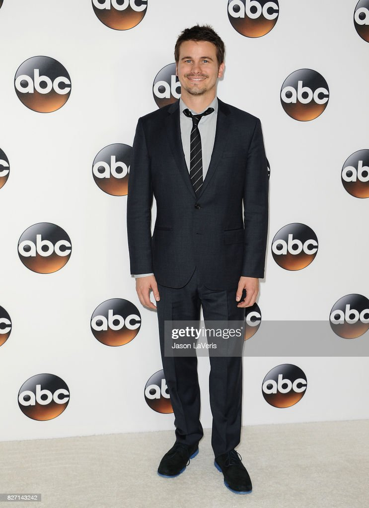 Actor Jason Ritter attends the Disney ABC Television Group TCA summer press tour at The Beverly Hilton Hotel on August 6, 2017 in Beverly Hills, California.
