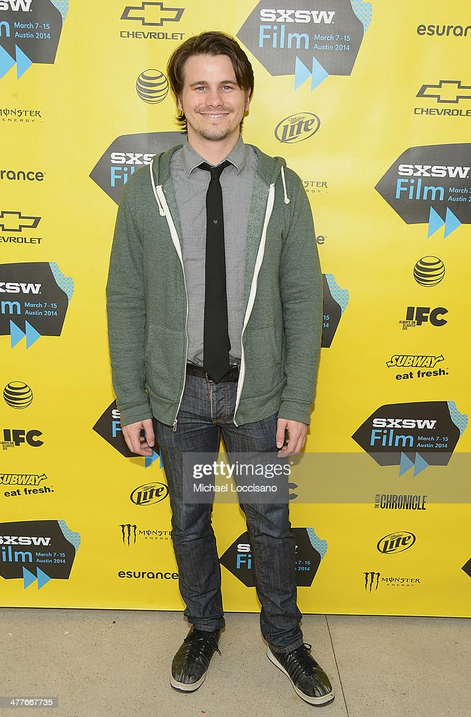 Actor <a gi-track='captionPersonalityLinkClicked' href=/galleries/search?phrase=Jason+Ritter&family=editorial&specificpeople=209201 ng-click='$event.stopPropagation()'>Jason Ritter</a> attends the 'We'll Never Have Paris' premiere during the 2014 SXSW Music, Film + Interactive Festival at the Topfer Theatre at ZACH on March 10, 2014 in Austin, Texas.