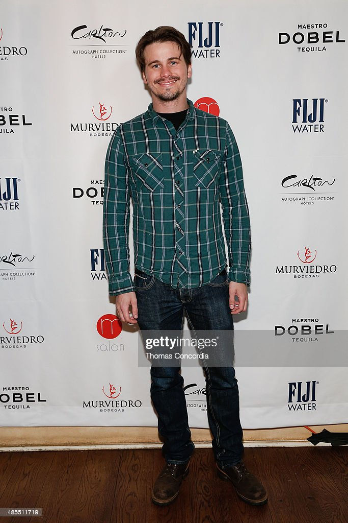 Actor Jason Ritter attends Tribeca Press Day for the film 'About Alex' at the Carlton Hotel on April 18, 2014 in New York City.