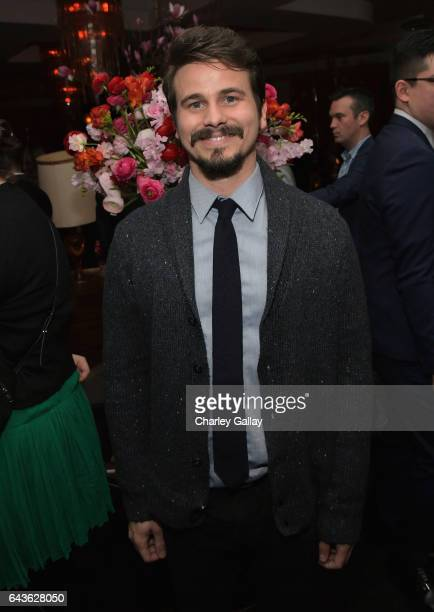 Actor Jason Ritter attends Vanity Fair and L'Oreal Paris Toast to Young Hollywood hosted by Dakota Johnson and Krista Smith at Delilah on February 21...