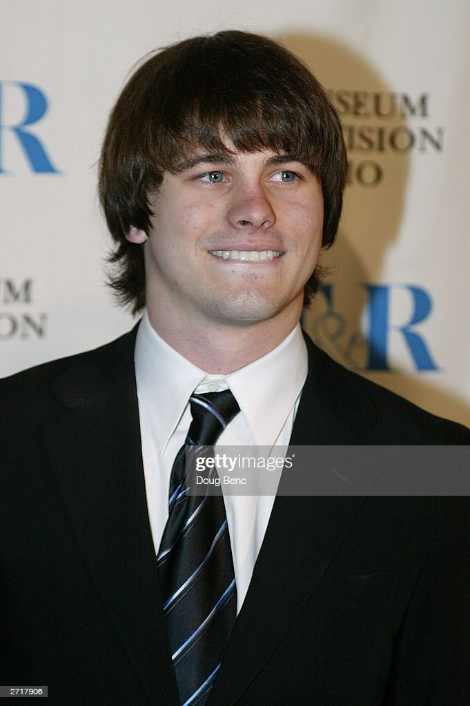 Actor Jason Ritter before the Museum of Television & Radio's Annual Los Angeles Gala on November 10, 2003 at the Beverly Hills Hotel in Beverly Hills, California.
