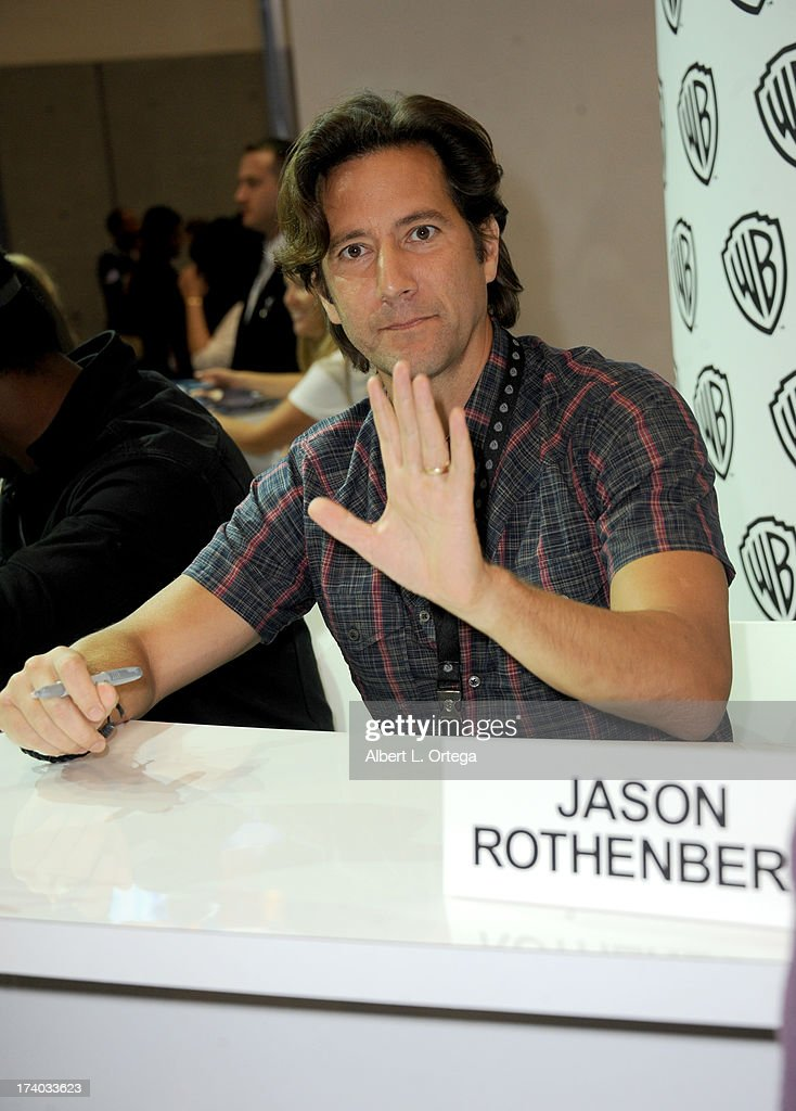Actor Jason Rothenberg during Comic-Con International at San Diego Convention Center on July 19, 2013 in San Diego, California.