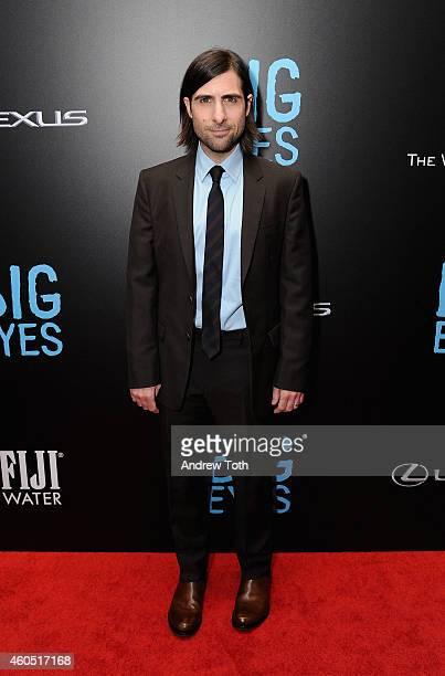 Actor Jason Schwartzman attends 'Big Eyes' New York premiere at Museum of Modern Art on December 15 2014 in New York City