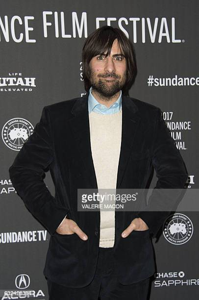 Actor Jason Schwartzman attends 'Golden Exits' Premiere at Library Center Theatre during the 2017 Sundance Film Festival in Park City Utah January 22...