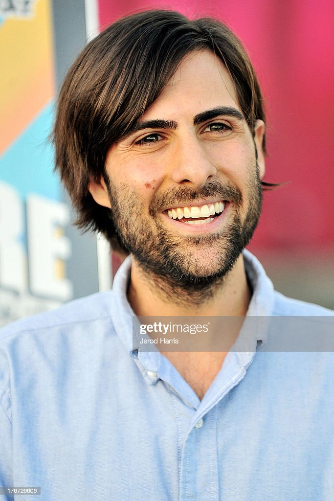 Actor <a gi-track='captionPersonalityLinkClicked' href=/galleries/search?phrase=Jason+Schwartzman&family=editorial&specificpeople=216351 ng-click='$event.stopPropagation()'>Jason Schwartzman</a> attends 'Oscars Outdoors' summer screening series of 'Rushmore' at Oscars Outdoors on August 17, 2013 in Hollywood, California.