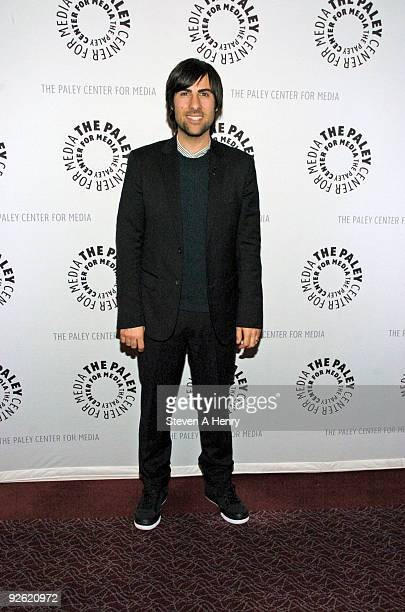 Actor Jason Schwartzman attends Raymond Chandler Meets Craigslist HBO's 'Bored to Death' at the Paley Center For Media on November 2 2009 in New York...