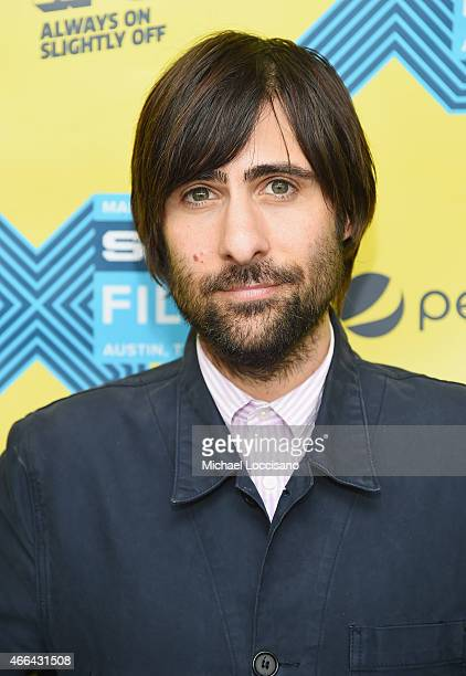 Actor Jason Schwartzman attends the '7 Chinese Brothers' premiere during the 2015 SXSW Music Film Interactive Festival at Topfer Theatre at ZACH on...