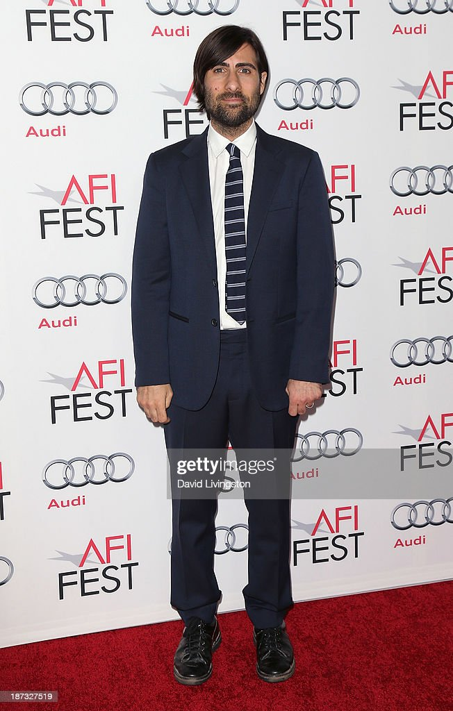 Actor <a gi-track='captionPersonalityLinkClicked' href=/galleries/search?phrase=Jason+Schwartzman&family=editorial&specificpeople=216351 ng-click='$event.stopPropagation()'>Jason Schwartzman</a> attends the AFI FEST 2013 presented by Audi premiere of Walt Disney Pictures' 'Saving Mr. Banks' at TCL Chinese Theatre on November 7, 2013 in Hollywood, California.