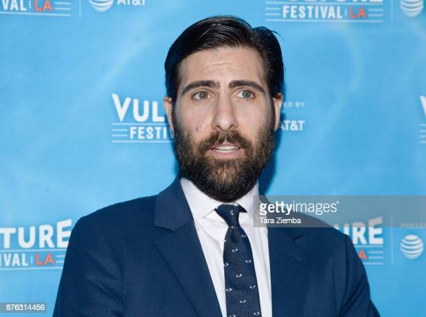 Actor Jason Schwartzman attends the Bored To Death Reunion panel during Vulture Festival Los Angeles at Hollywood Roosevelt Hotel on November 19 2017...