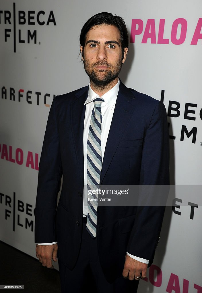 Actor <a gi-track='captionPersonalityLinkClicked' href=/galleries/search?phrase=Jason+Schwartzman&family=editorial&specificpeople=216351 ng-click='$event.stopPropagation()'>Jason Schwartzman</a> attends the premiere of Tribeca Film's 'Palo Alto' at the Directors Guild of America on May 5, 2014 in Los Angeles, California.