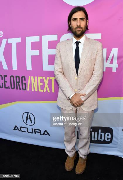 Actor Jason Schwartzman attends the screening of 'Listen Up Philip' during Sundance NEXT FEST at The Theatre at Ace Hotel on August 9 2014 in Los...