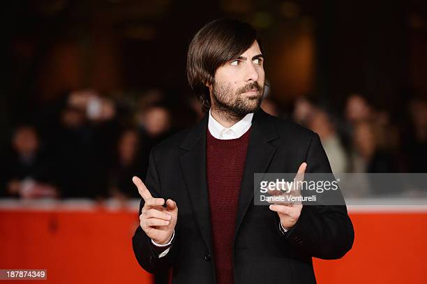 Actor Jason Schwartzman attends the Wes Anderson And Roman Coppola On The Red Carpet during The 8th Rome Film Festival on November 13 2013 in Rome...