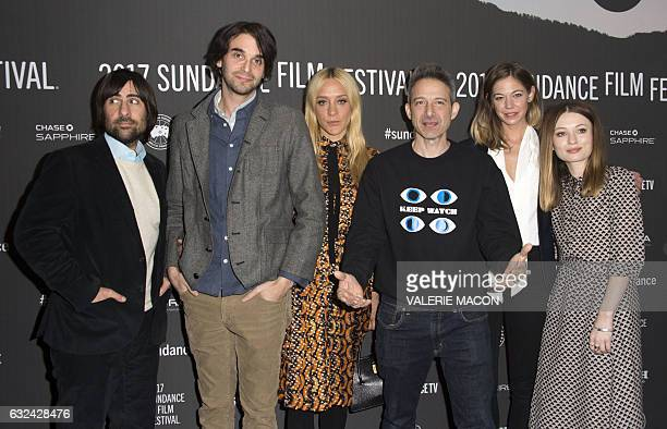 Actor Jason Schwartzman director Alex Ross Perry actors Chloe Sevigny Adam Horovitz Analeigh Tipton and Emily Browning and attend 'Golden Exits'...