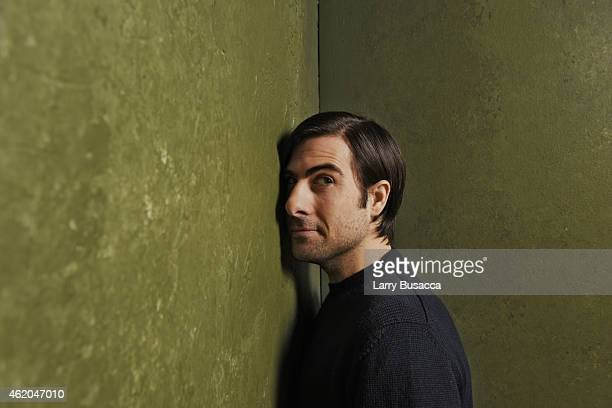 Actor Jason Schwartzman from 'The Overnight' poses for a portrait at the Village at the Lift Presented by McDonald's McCafe during the 2015 Sundance...