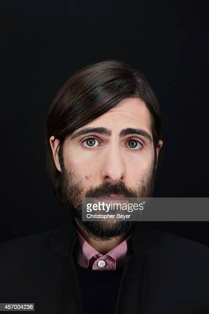 Actor Jason Schwartzman is photographed for Entertainment Weekly Magazine on January 25 2014 in Park City Utah