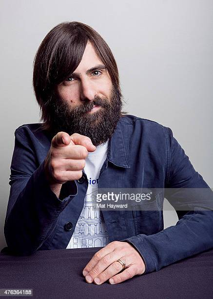 Actor Jason Schwartzman poses for a portrait during the Seattle International Film Festival at the W Hotel on May 27 2015 in Seattle Washington