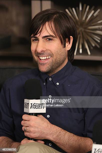 Actor Jason Schwartzman speaks at the The Variety Studio At Sundance Presented By Dockers on January 24 2015 in Park City Utah