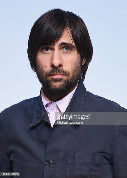 Actor Jason Schwartzman takes part in a QA following the '7 Chinese Brothers' premiere during the 2015 SXSW Music Film Interactive Festival at Topfer...