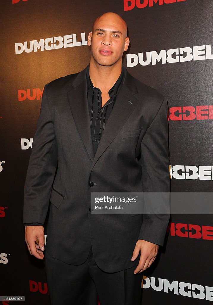 Actor Jason Scott Jenkins attends the 'Dumbbells' premiere at SupperClub Los Angeles on January 7, 2014 in Los Angeles, California.