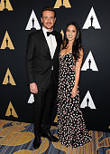 Actor Jason Segel and actress Olivia Munn attend the Academy of Motion Picture Arts and Sciences' Scientific and Technical Awards ceremony at the...