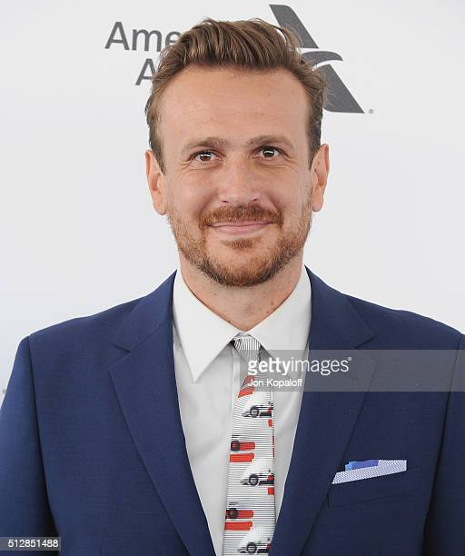 Actor Jason Segel arrives at the 2016 Film Independent Spirit Awards on February 27 2016 in Los Angeles California