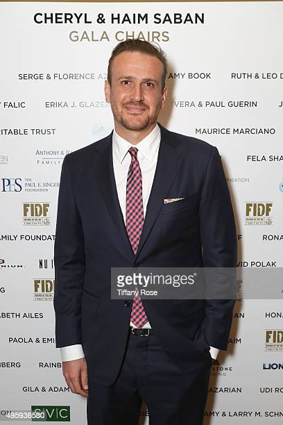 Actor Jason Segel attends Friends Of The Israel Defense Forces Western Region Gala at The Beverly Hilton Hotel on November 5 2015 in Beverly Hills...
