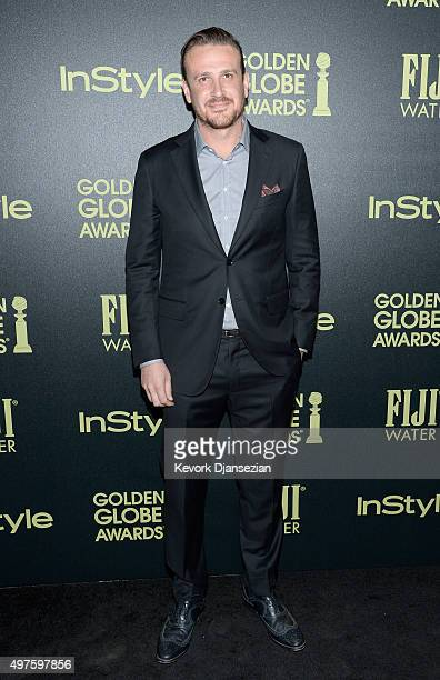 Actor Jason Segel attends Hollywood Foreign Press Association and InStyle Celebration of The 2016 Golden Globe Award Season at Ysabel on November 17...