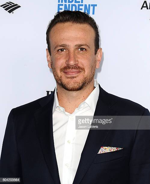 Actor Jason Segel attends the 2016 Film Independent filmmaker grant and Spirit Award nominees brunch at BOA Steakhouse on January 9 2016 in West...