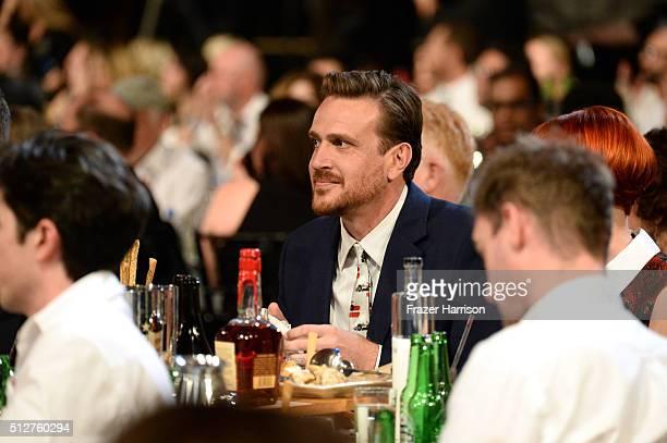 Actor Jason Segel attends the 2016 Film Independent Spirit Awards on February 27 2016 in Santa Monica California
